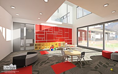 Childcare design - Internal 3d imaging -